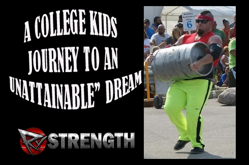 "A College Kids Journey to an ""Unattainable"" Dream Rob Kearney!"
