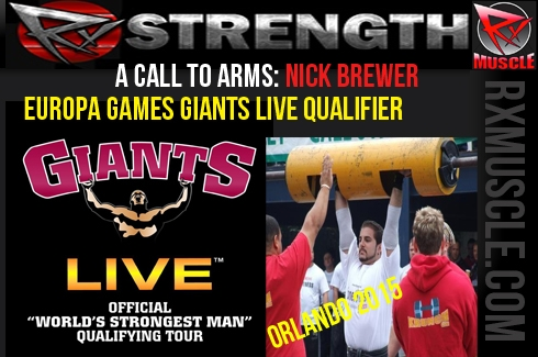 A Call to Arms: Europa Games Giants Live Qualifier