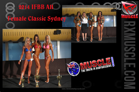 2014 IFBB All Female Classic Sydney