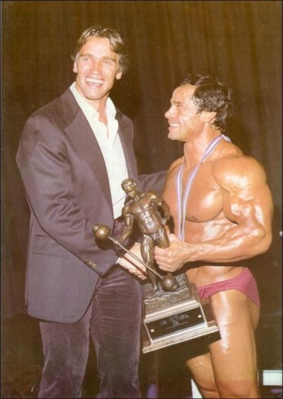 1981 Mr. Olympia - Arnold and Franco