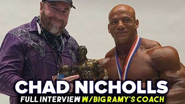CHAD NICHOLLS HOW BIG RAMY WON MR OLYMPIA