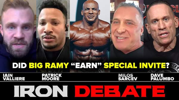 DID BIG RAMY DESERVE OLYMPIA SPECIAL INVITE