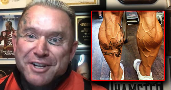 LEE PRIESTS HILARIOUS ADVICE FOR MASSIVE CALVES