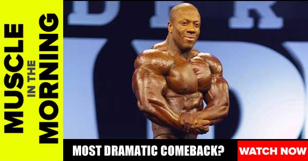 BODYBUILDINGS MOST DRAMATIC COMEBACK