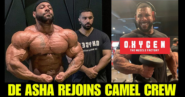 NATHAN DE ASHA TAPS OXYGEN FOR OLYMPIA COMEBACK