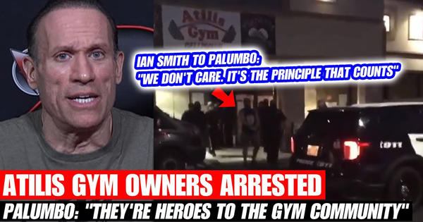 ATILIS GYM OWNERS ARRESTED FURIOUS PALUMBO RESPONDS