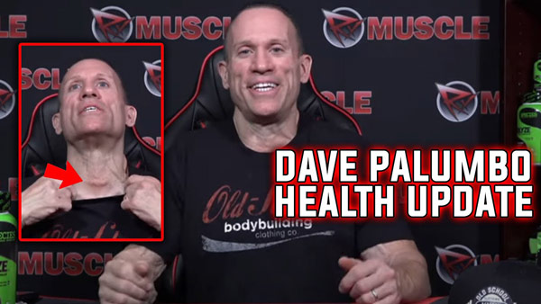 Dave Palumbo 2 Week Post Cancer Surgery Update
