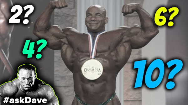 Big Ramy Will Win HOW MANY Olympia Titles