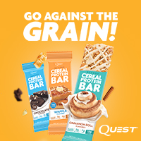 Go against the grain with Quest!