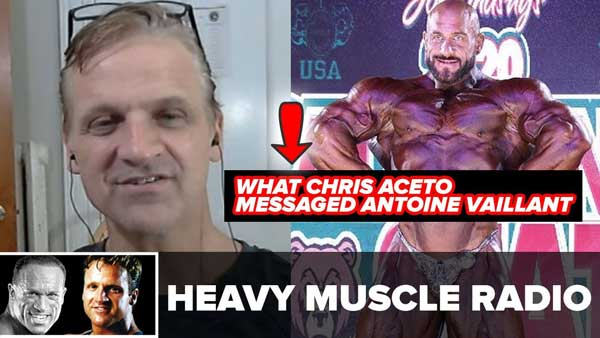 Chris Aceto Responds To Antoine Vaillant