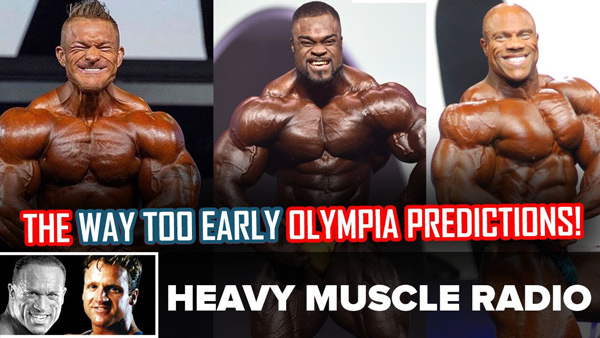 FLEX LEWIS CHANCES TO WIN OLYMPIA