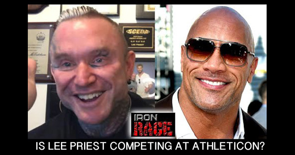 IS LEE PRIEST COMPETING AT ATHLETICON