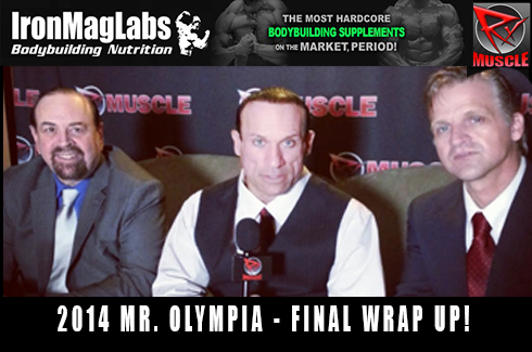 You are watching Olympia Final Wrap Up