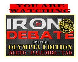 You are watching Iron Debate