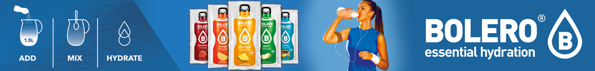 Get hydrated! Check out Bolero Essential Hydration
