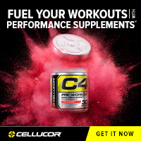 cellucor pre workout c4