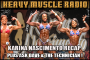 Heavy Muscle Radio (3/27/17) Karina Nascimento Classic Recap Plus Ask the Technician and Ask Dave