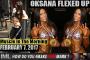 OKSANA FLEXED UP! - Muscle In The Morning February 8, 2017
