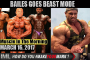 BAILES GOES BEAST MODE ! - Muscle In The Morning March 16, 2017