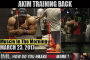 AKIM TRAINING BACK ! - Muscle In The Morning March 23, 2017