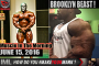 BROOKLYN BEAST! Muscle In The Morning June 15, 2016