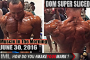 DOM SUPER SLICED!- Muscle In The Morning June 30, 2016