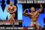 DALLAS BACK TO WORK! - Muscle In The Morning September 21, 2016
