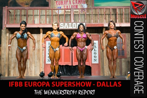 The Wennerstrom Report: YASHA WINS EUROPA SUPERSHOW DALLAS!