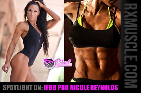 Spotlight on: IFBB Pro Nicole Reynolds