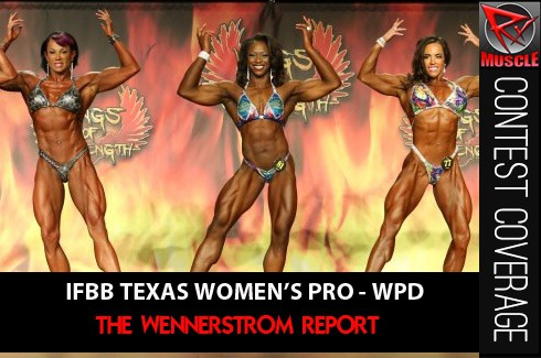IFBB Texas Pro - WPD Results