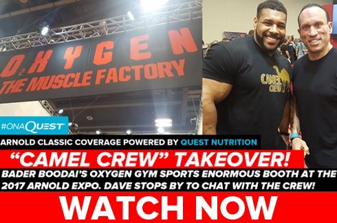 Oxygen Gym at the Arnold Expo!