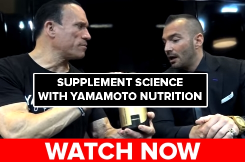 Supplement Science with Yamamoto Nutrition