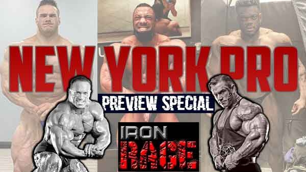 Iron Rage previews the 2021 New York Pro